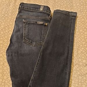 7 FOR ALL MANKIND 'the skinny' jeans in blue